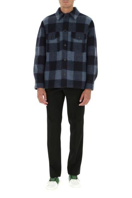 Embroidered polyester blend Kervon jacket