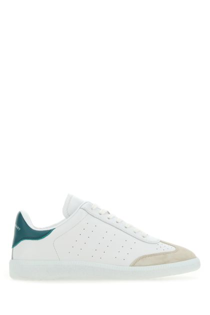 White leather Bryce sneakers