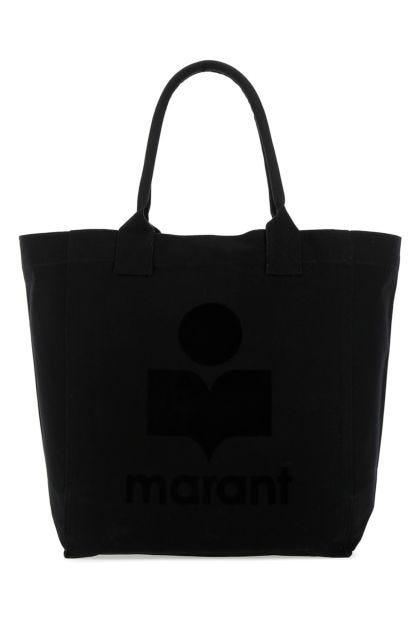 Black canvas small Yenky shopping bag