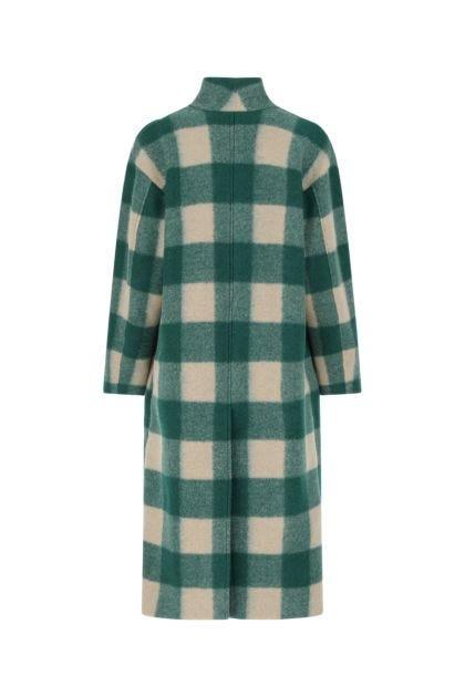 Embroidered polyester blend Klelayo coat
