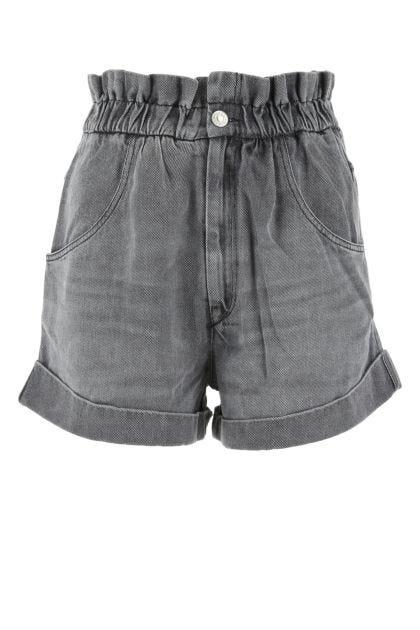 Grey denim Itea shorts