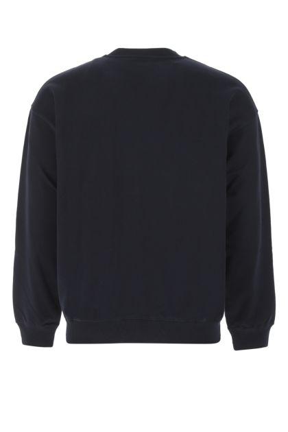 Dark blue cotton sweatshirt