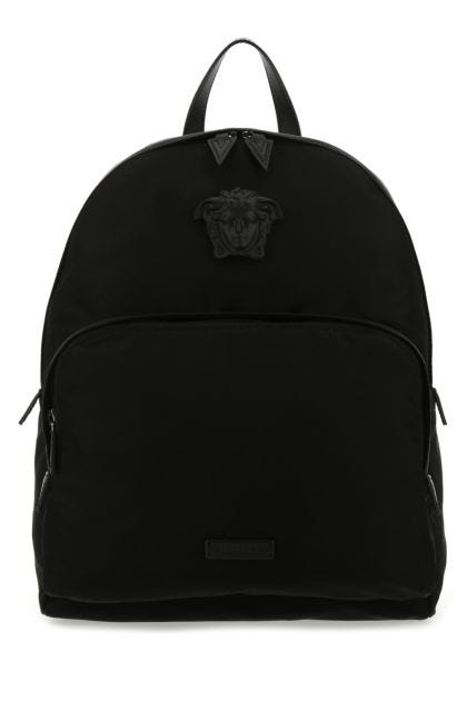 Black nylon La Medusa backpack