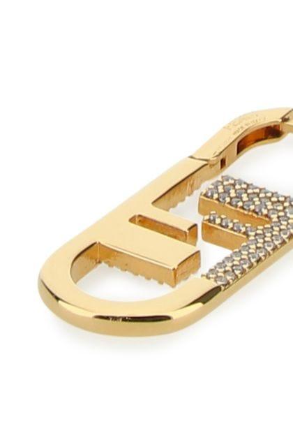 Gold O'Lock earrings