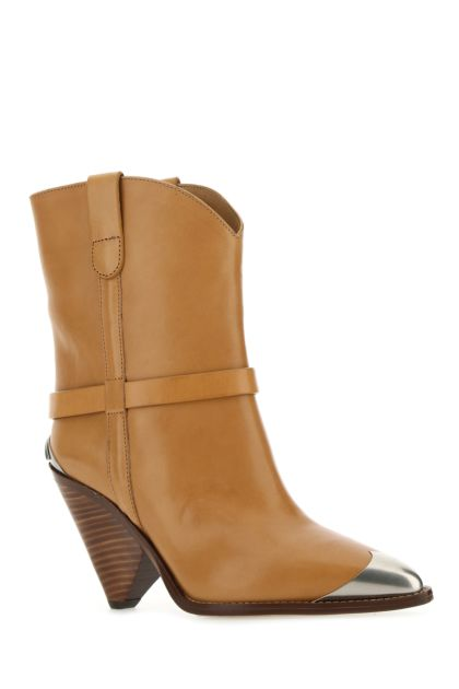 Camel leather Limza boots