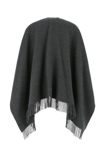 Grey wool blend coat