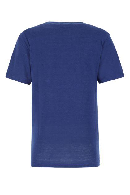 Midnight blue linen Zewel t-shirt