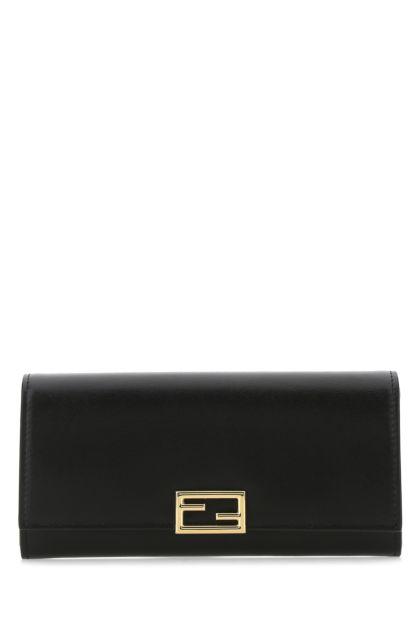 Black leather Fendi Way wallet