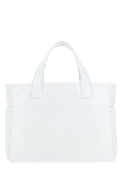 White cirè handbag
