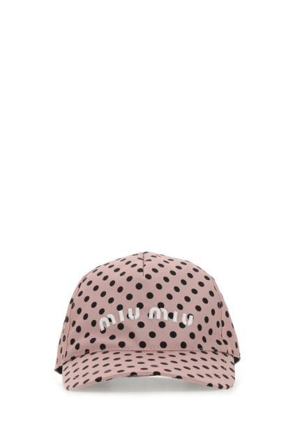 Printed nylon baseball cap
