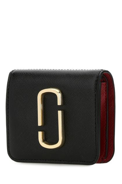 Multicolor leather mini The Snapshot wallet