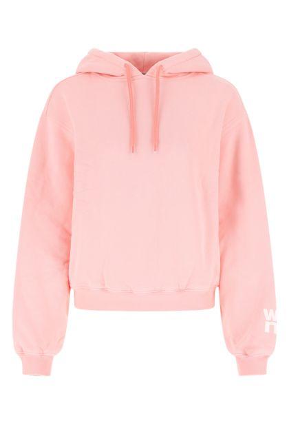 Pink cotton sweatshirt