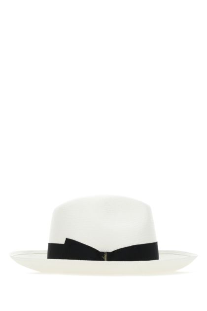 White straw hat
