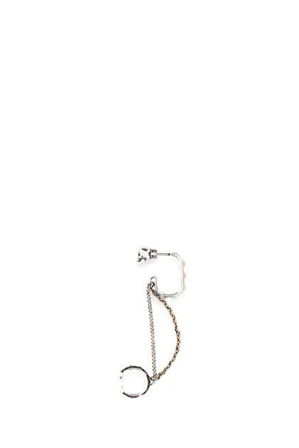 Metal single earrings