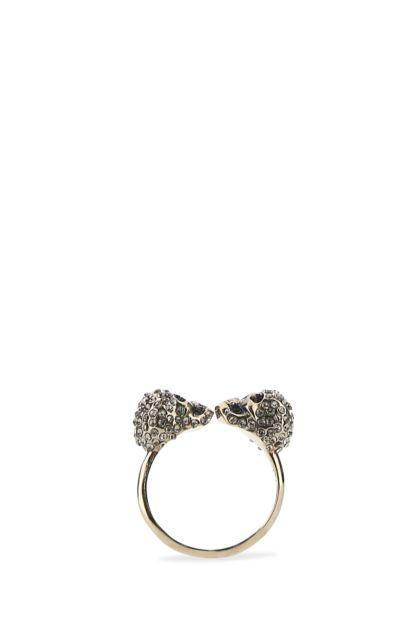 Gold metal ring