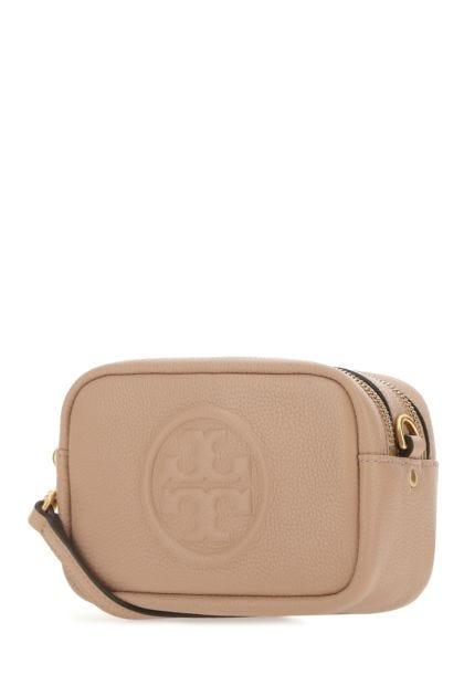 Skin pink leather mini Perry crossbody bag