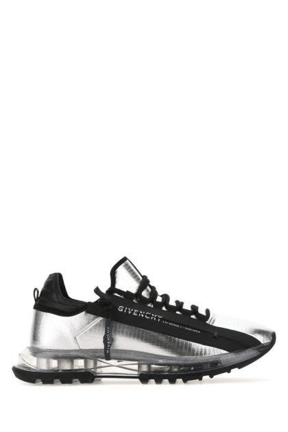 Two-tone fabric Spectre sneakers
