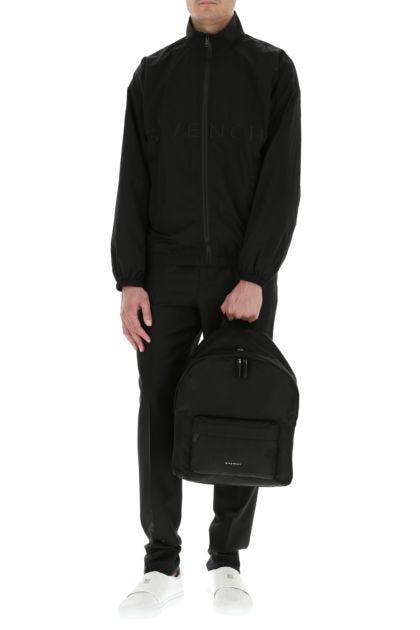 Black nylon Essentiel U backpack
