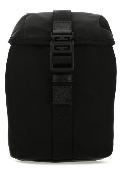 Black nylon mini 4G Light backpack