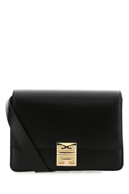Black leather medium 4G crossbody bag