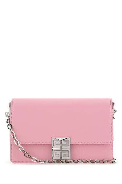 Pink leather small 4G shoulder bag