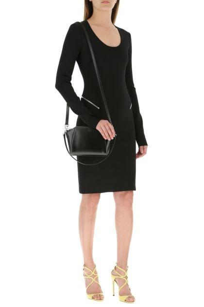 Black leather XS Antigona handbag