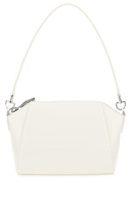 White leather XS Antigona handbag