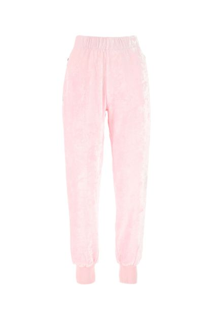 Pink chenille joggers