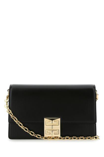 Black leather small 4G shoulder bag