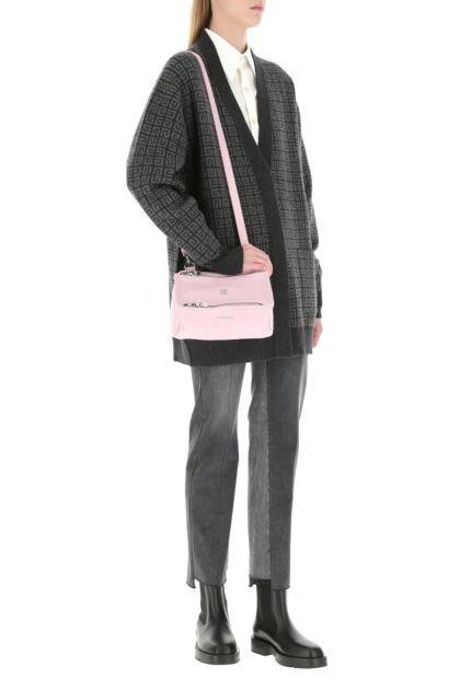 Pastel pink mini Pandora crossbody bag