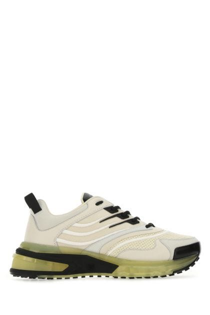 Multicolor leather and mesh Giv 1 sneakers