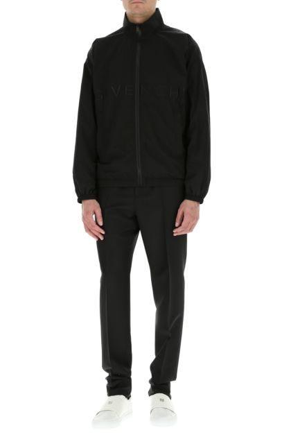 Black nylon jacket