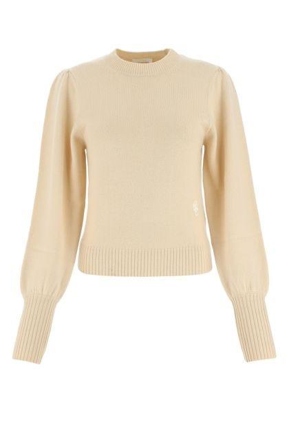 Sand cashmere sweater