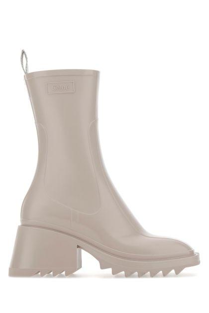 Sand PVC Betty boots