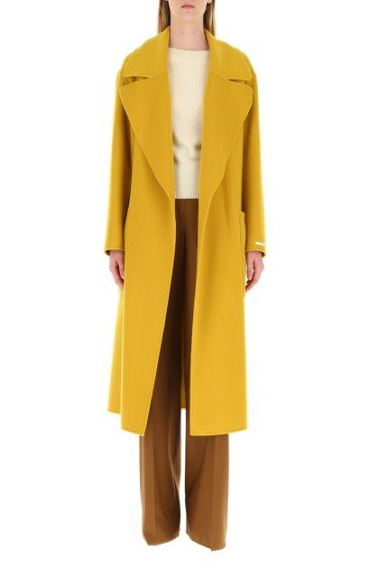 Mustard wool Dinar coat