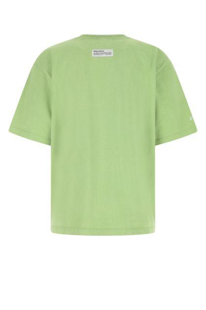 Green cotton oversize t-shirt