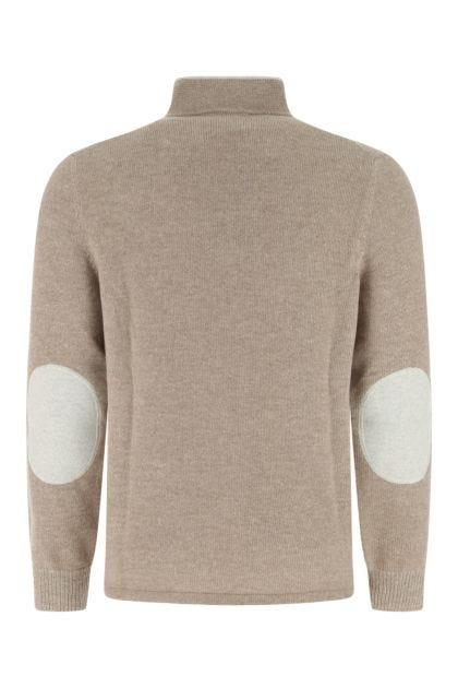 Cappuccino cashmere Ellen sweater