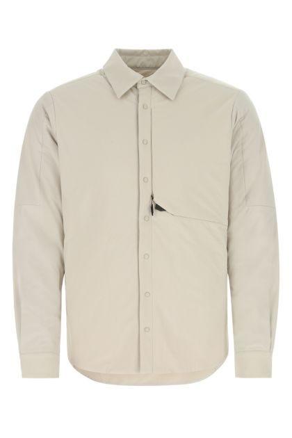 Sand stretch nylon padded shirt