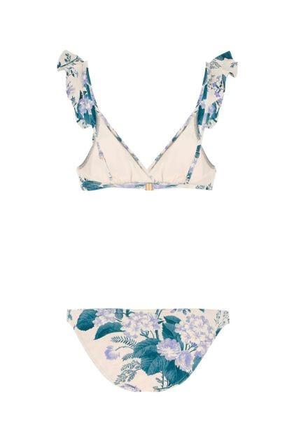 Printed stretch nylon Cassia bikini