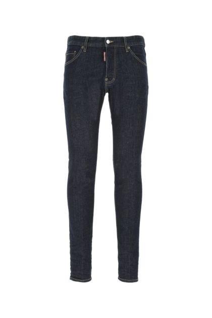 Dark blue stretch denim Cool Guy jeans