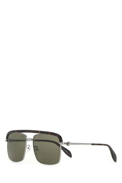 Two-tone metal and acetate Sole Skull sunglasses