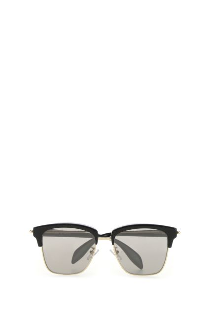 Two-tone acetate and metal Piercing sunglasses