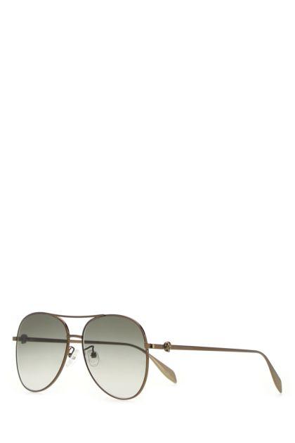 Bronze metal Light Skull sunglasses
