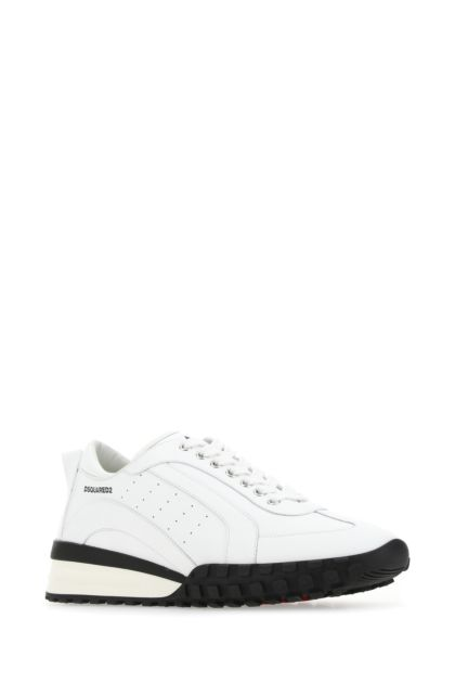 White leather Legend sneakers
