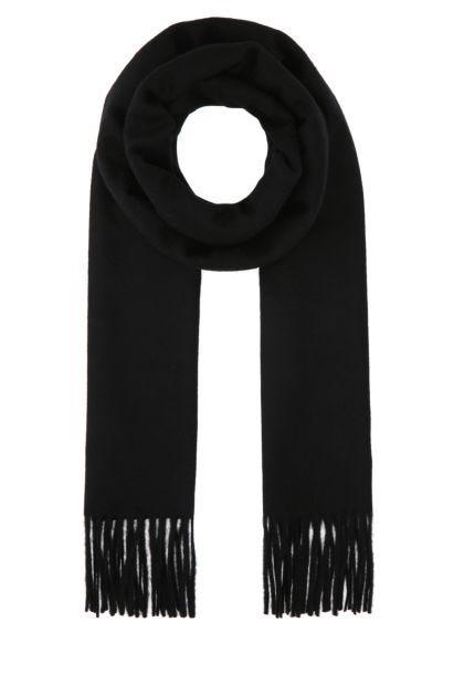 Black cashmere Wsdalia scarf