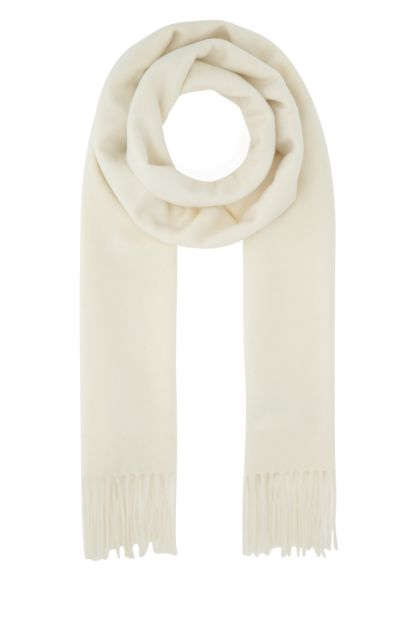 Ivory cashmere Wsdalia scarf