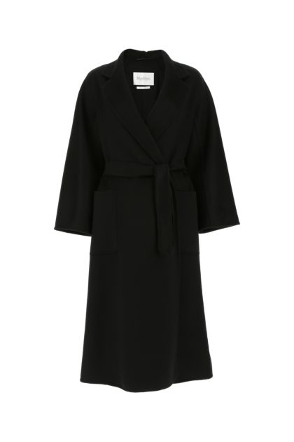 Black cashmere Labbro coat