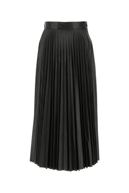 Black polyurethane skirt