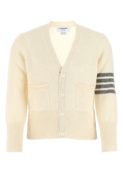 Ivory wool cardigan