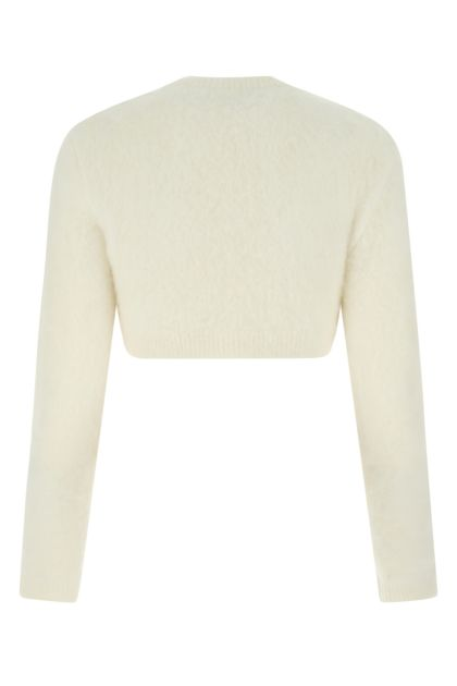 Ivory acrylic blend sweater